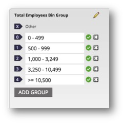 Create all of the Group labels