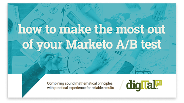 Download our Marketo A/B testing eBook guide