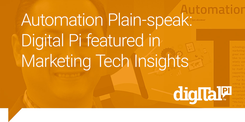 Digital Pi Recognized as Top 10 Marketing Automation Solution Providers 2016