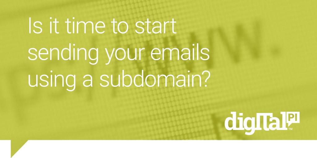 sending your emails using a subdomain