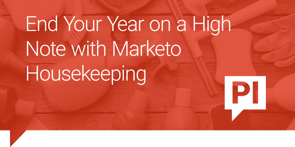 End your year on a high note with Marketo housekeeping