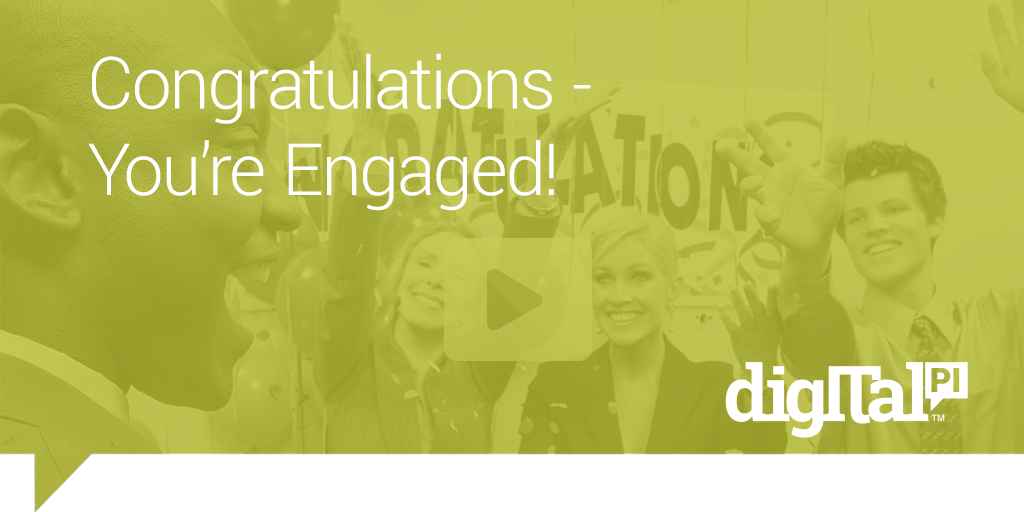 congrats on your engagement digital pi