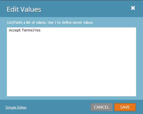 Marketo Forms 2.0 Edit Values