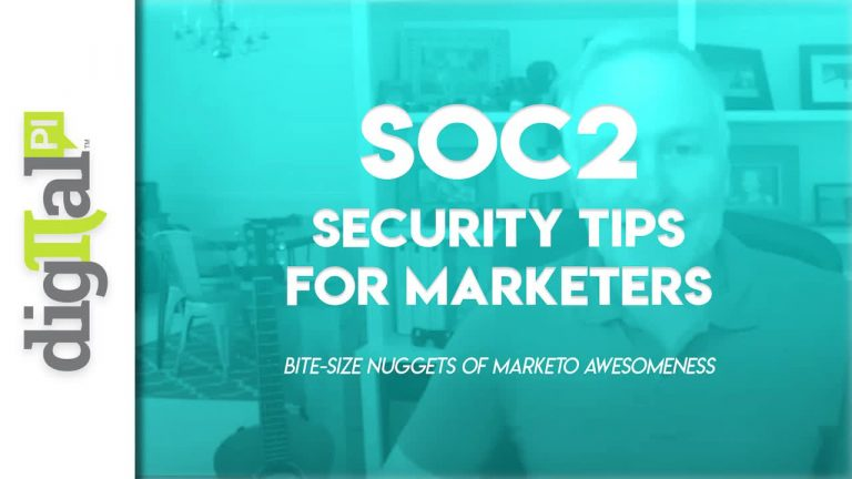 Video: SOC2 Security Tips for Marketers