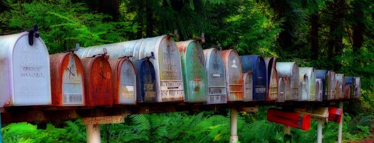 mailbox, postbox, letters