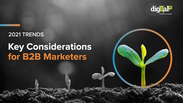 Read the 2021 Trends Key Considerations for B2B Marketers ebook